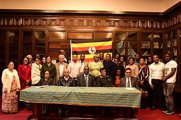 Visit from the Uganda High CommissinerH.E. Julius Peter Moto