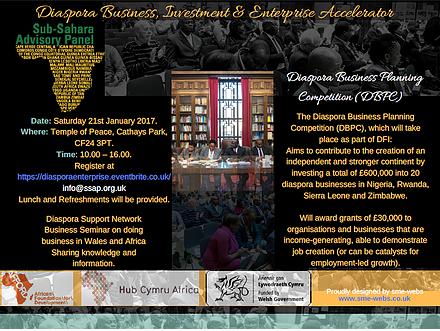 Diaspora Business, Investment & Enterprise Accelerator
