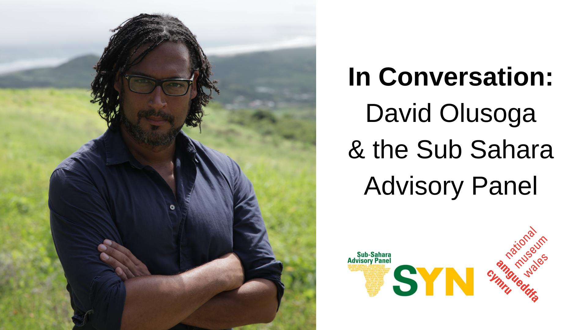 In Conversation/ Sgwrs Gyda: David Olusoga & SSAP